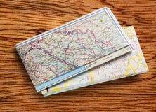 Carte de route balkanique 2012 Image libre de droits