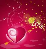 Carte de Saint-Valentin Photo stock
