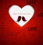 Carte de Saint-Valentin Photos stock