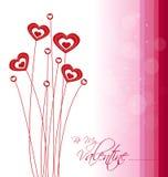 Carte de Saint-Valentin Photographie stock