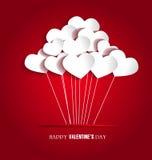 Carte de Saint-Valentin Photos libres de droits