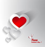 Carte de Saint-Valentin Image libre de droits