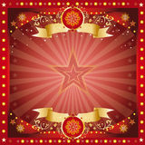 Carte de salutation fantastique de Noël Images stock