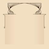 Carte de salutation ou d'invitation de vecteur Images stock