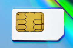 Carte de SIM Photos libres de droits