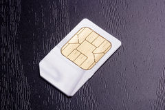 Carte de SIM Photos stock