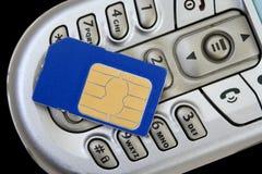 Carte de Sim Photo libre de droits