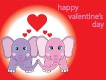 carte de st.valentine Photo libre de droits