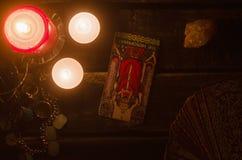 Carte de tarot Future lecture divination photo libre de droits
