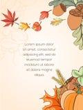 Carte de Thanksgiving Photographie stock libre de droits