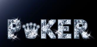 Carte de tisonnier de diamant, vecteur Images libres de droits