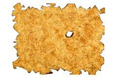 Carte de trésor Photo libre de droits