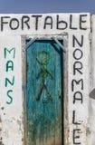 Carte de travail du désert Tunis Photographie stock