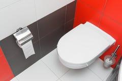 Carte de travail moderne de toilette Photo libre de droits