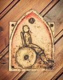 Carte de travail pour des handicapés Photographie stock