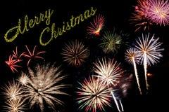Carte de vacances de Noël Images libres de droits