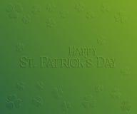 Carte de vacances de St Patrick Day Photographie stock libre de droits