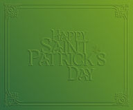 Carte de vacances de St Patrick Day Photos libres de droits