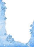 Carte de vacances des fleurs et de la perle Photographie stock libre de droits