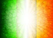 Carte de vacances le jour du ` s de St Patrick illustration stock