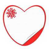 Carte de vacances St Jour de Valentines Admettez son amour Image libre de droits