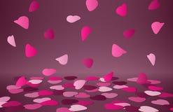 Carte de Valentine Images stock