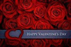 Carte de Valentine Photos libres de droits