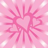 Carte de Valentine Photo libre de droits