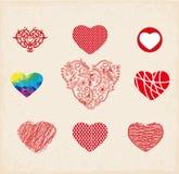 Carte de Valentine Illustration Libre de Droits