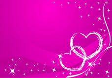 Carte de valentine de vecteur illustration stock
