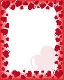 Carte de Valentines Photo stock