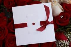 Carte de Valentines Photographie stock libre de droits