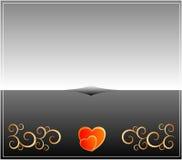 Carte de Valentines Image libre de droits