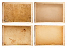 Carte de vintage avec l'espace vide à écrire Photographie stock