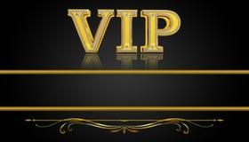 Carte de VIP Photographie stock