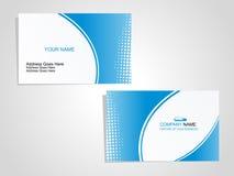 CARTE DE VISITE PROFESSIONNELLE DE VISITE Illustration Stock