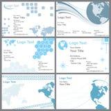 Carte de visite professionnelle de visite illustration libre de droits