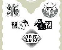 Carte de voeux 2015 Photo stock