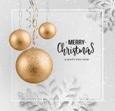 Carte de voeux abstraite de Noël de vecteur photos libres de droits
