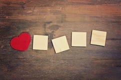 Carte de voeux - amour Image libre de droits