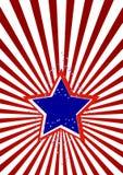 Carte de voeux avec des étoiles illustration de vecteur