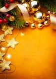 Carte de voeux d'Art Christmas Photos stock