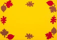 Carte de voeux d'automne photo libre de droits