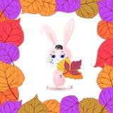 Carte de voeux d'automne Photo stock