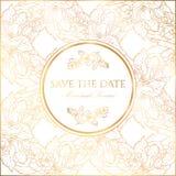 Carte de voeux d'invitation ou avec la fleur de pommier photo stock