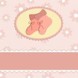 Carte de voeux de chéri Photo stock