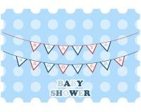 Carte de voeux de fête de naissance Photo libre de droits