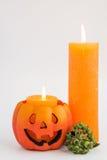 Carte de voeux de Halloween Images stock