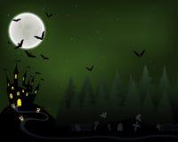 Carte de voeux de Halloween Image libre de droits
