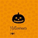 Carte de voeux de Halloween Photos stock